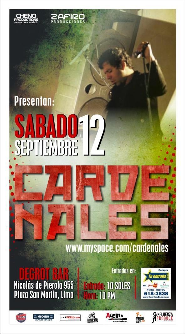Cardenales el sábado 12