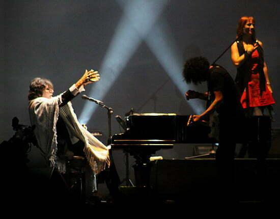 Concierto de Charly Garcia en Lima