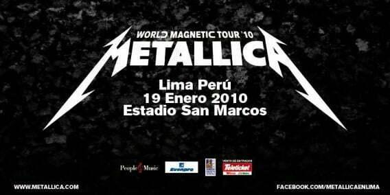 Metallica en Peru