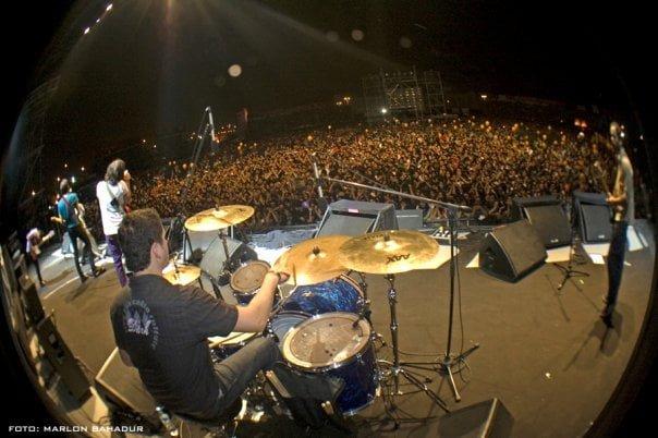 Autobus The Killers I FESTIVAL ROCK EN EL PARQUE DE LA MURALLA 2010