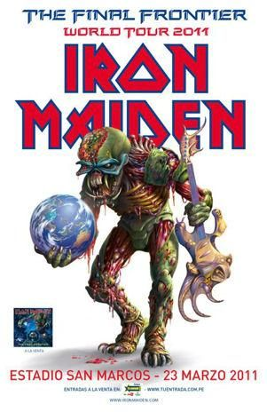 Iron Maiden Lima Peru 2011 IRON MAIDEN EN LIMA 2011: entradas a la venta