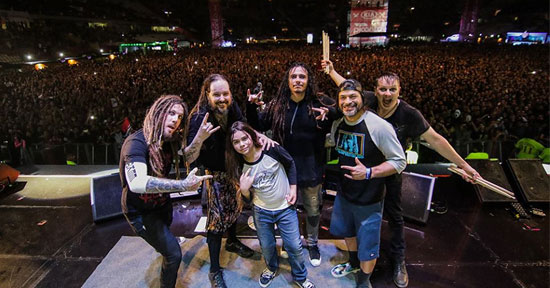 Korn en vivo x el rock 9