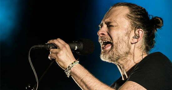 Radiohead Estadio Nacional 2018 Lima Peru