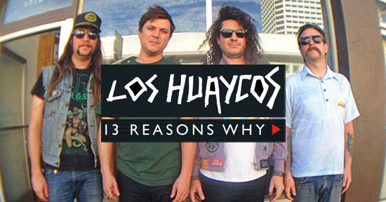 los huaycos entrevista 13 reasons why netflix
