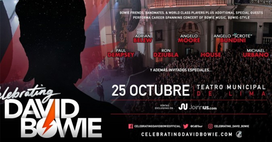 Celebrating David Bowie Peru