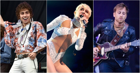 woodstock 2019 miley cyrus black keys