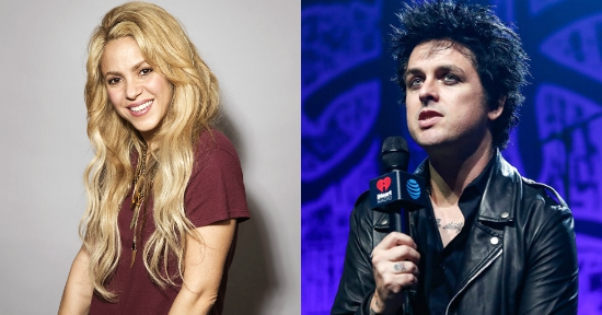shakira billie joe armstrong basket case