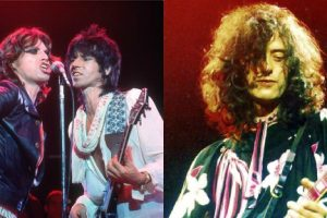 The Rolling Stones Jimmy Page Scarlet
