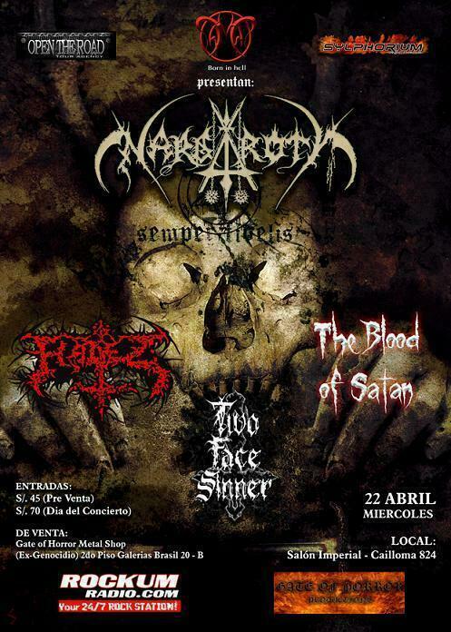 Nargaroth en Lima Perú