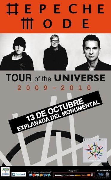 Depeche Mode en Lima precios de entradas