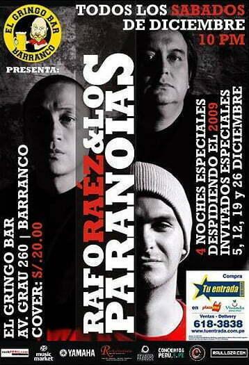 Rafo Raez & Los Paranoias