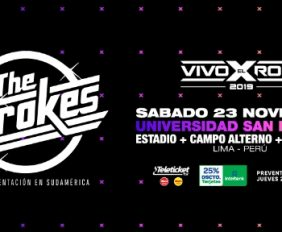 vivo x el rock 2019 the strokes lima entradas